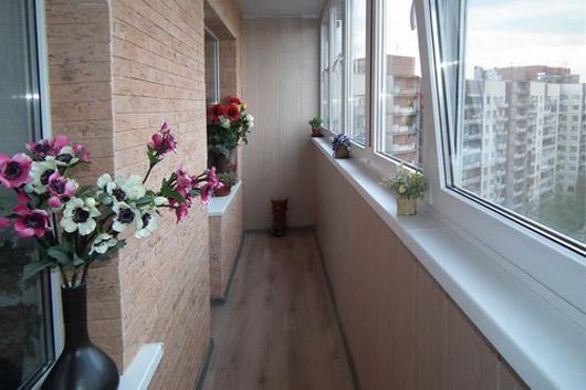 Ремонт лоджий и балконов фото