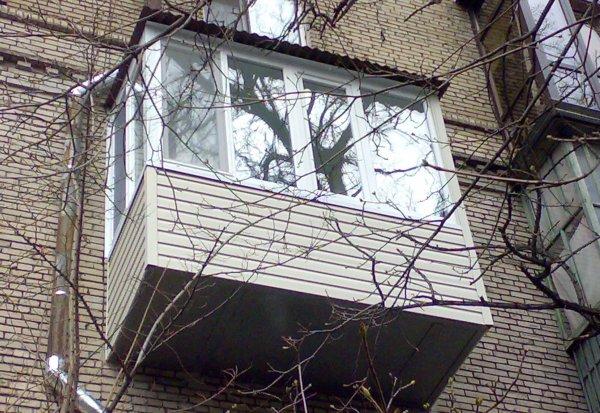 Остекление балконов в днепропетровске под ключ - цены на окн.