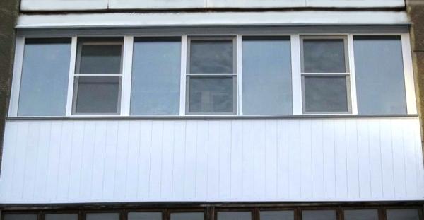 Ширина окон для шестиметрового балкона панельного дома..