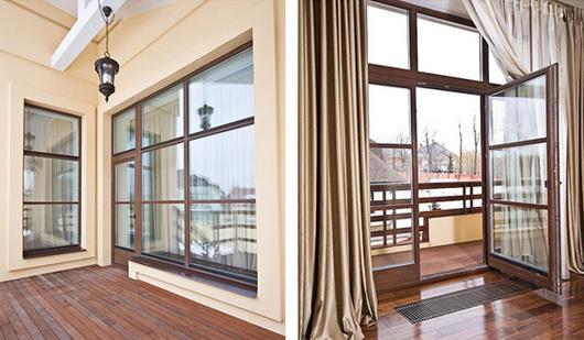 Деревянные балконные двери - что может быть красивее?.