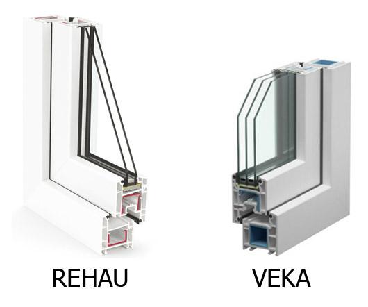Какие окна лучше veka или rehau