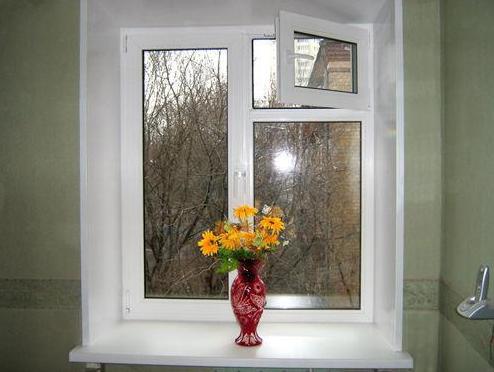 Пластиковые окна с форточками виды