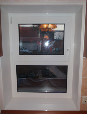 пластиковые окна с форточкой фото